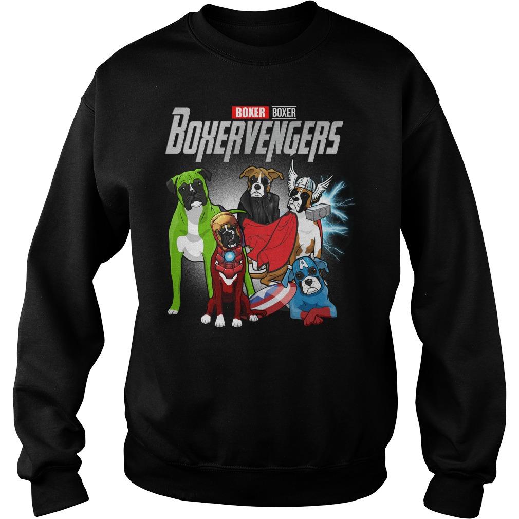 Marvel Avengers Boxer Boxervengers Sweater