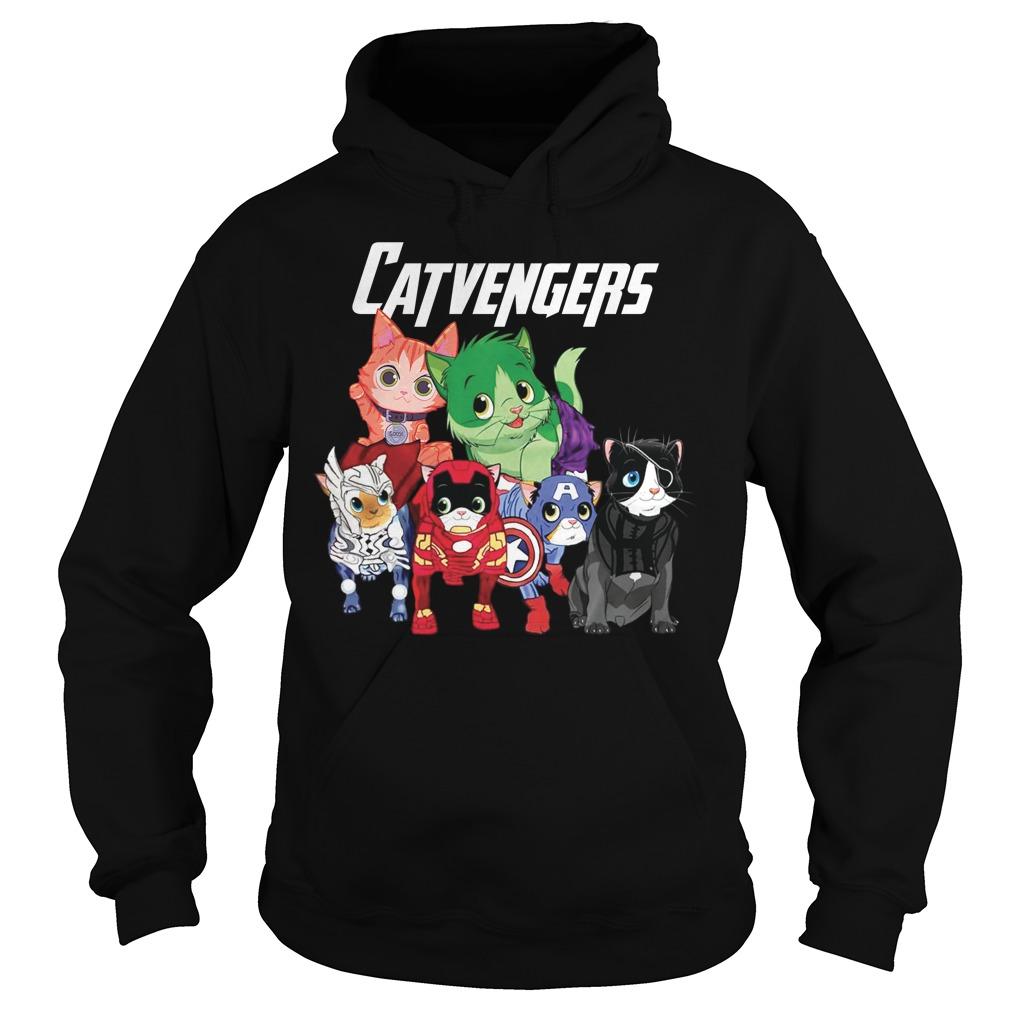 Marvel Avengers Cat Beauty Hoodie