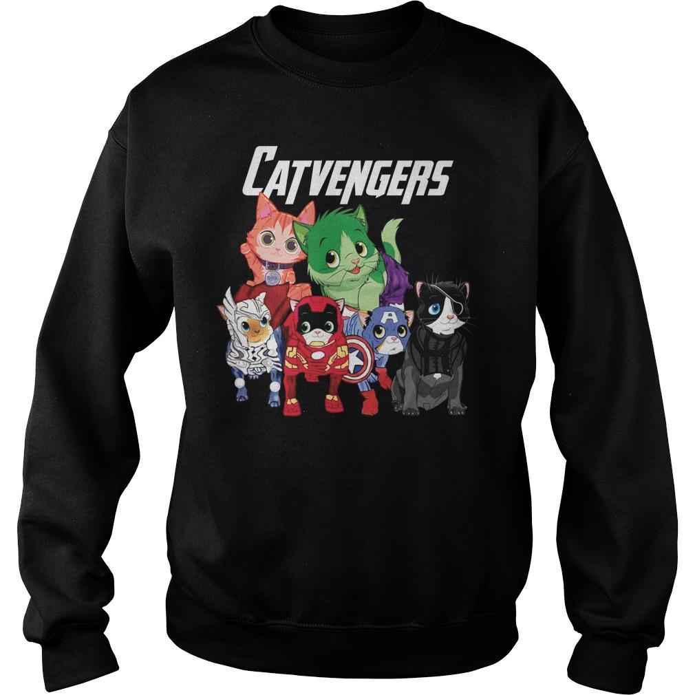 Marvel Avengers Cat Beauty Sweater