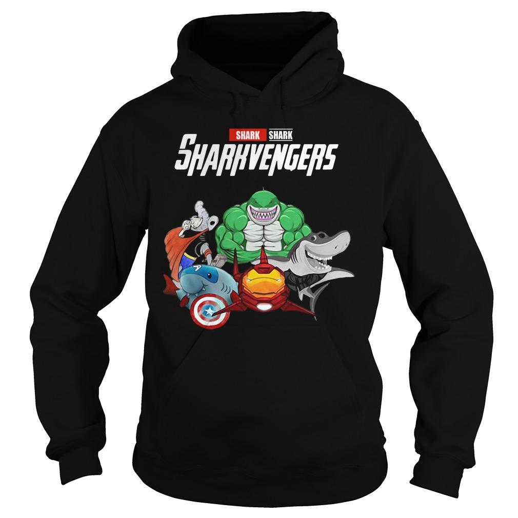 Marvel Avengers Shark Sharkvengers Hoodie