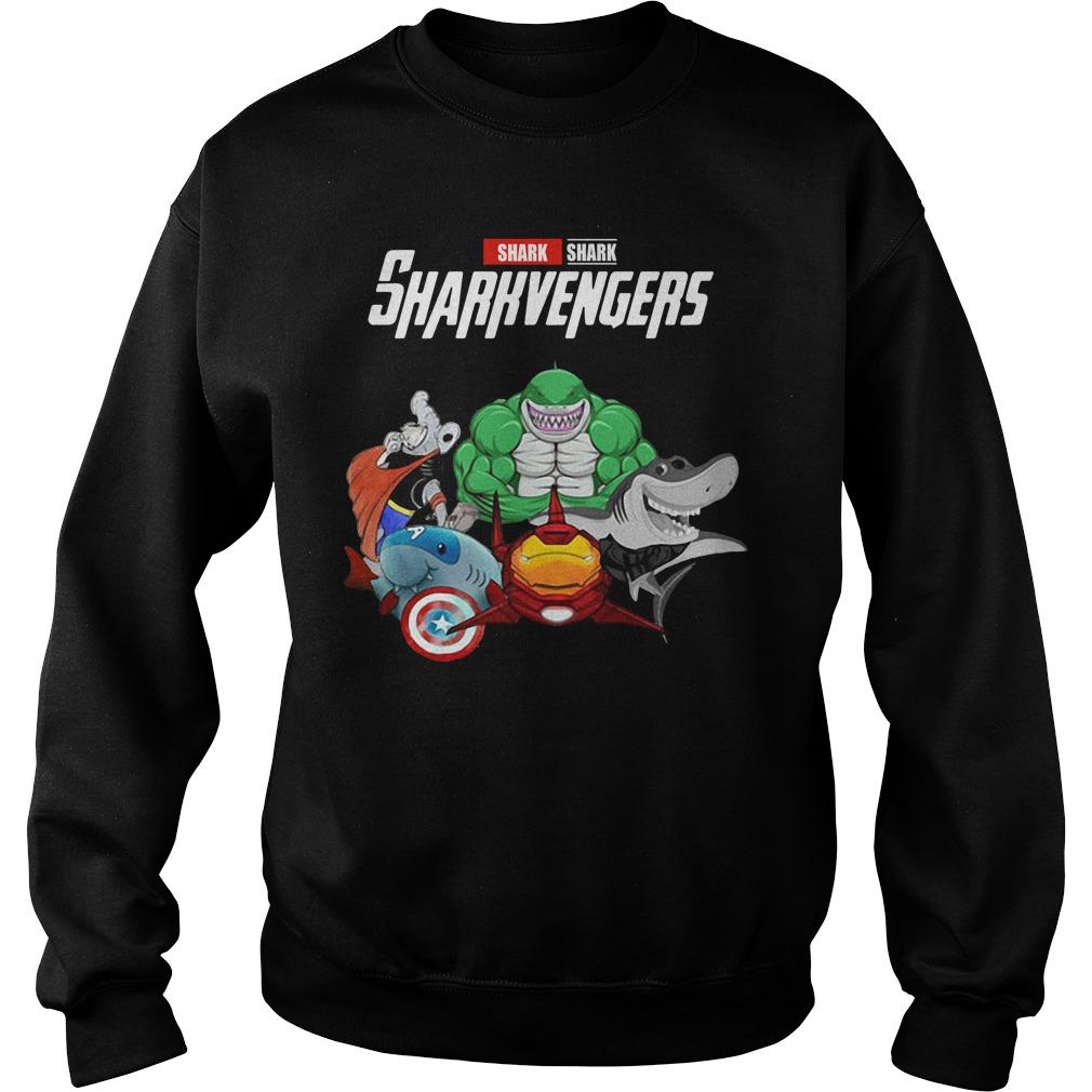 Marvel Avengers Shark Sharkvengers Sweater