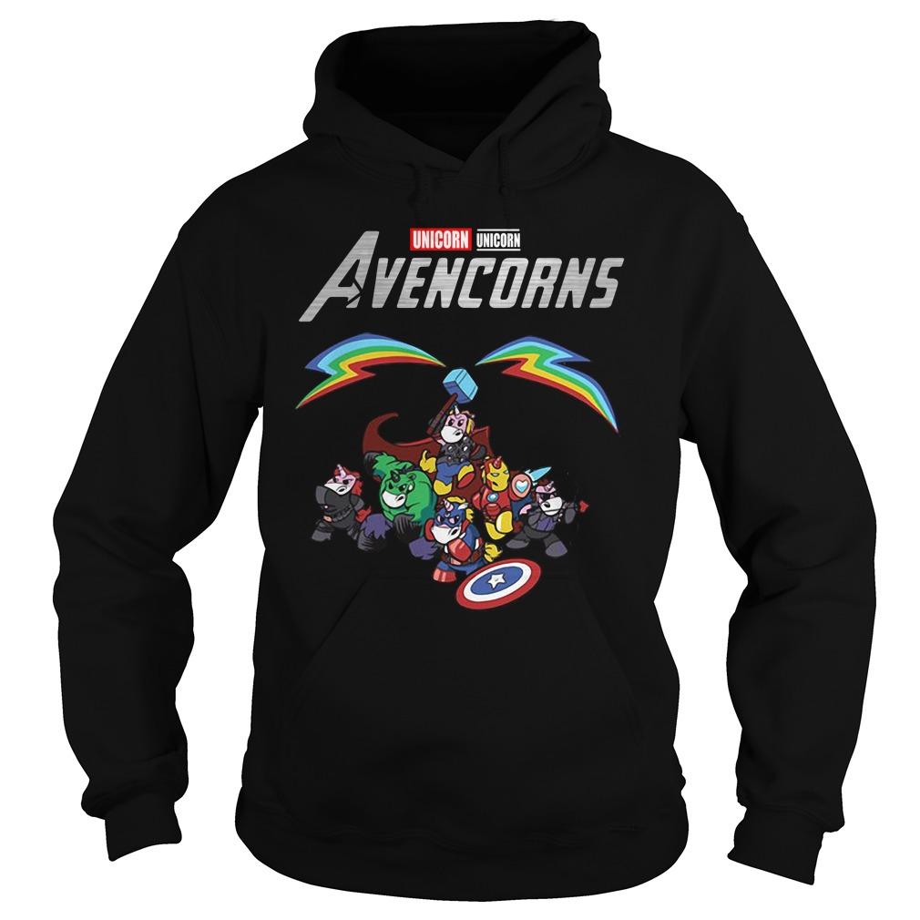 Marvel Avengers Unicorn Avencorns Hoodie