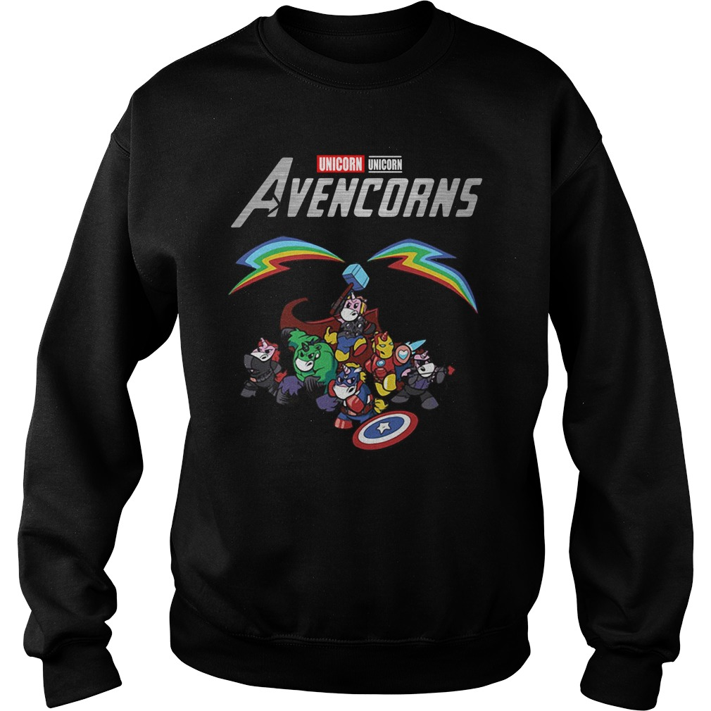 Marvel Avengers Unicorn Avencorns Sweater