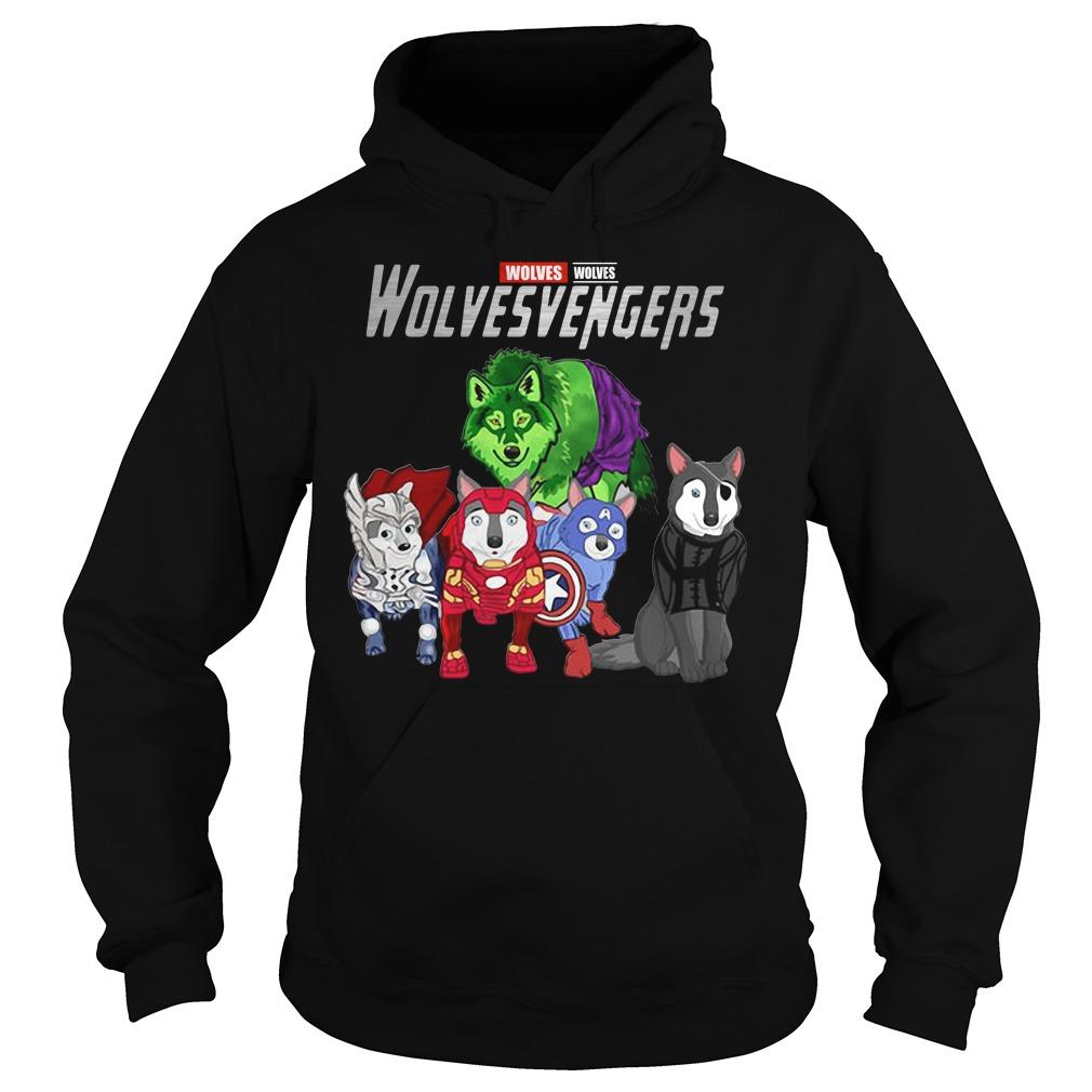 Marvel Avengers Wolves Wolvesvengers Hoodie