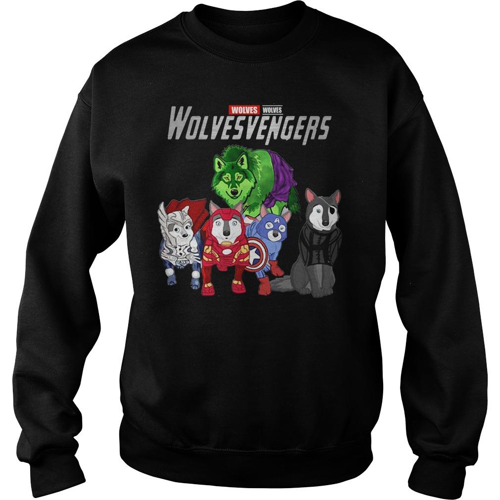 Marvel Avengers Wolves Wolvesvengers Sweater