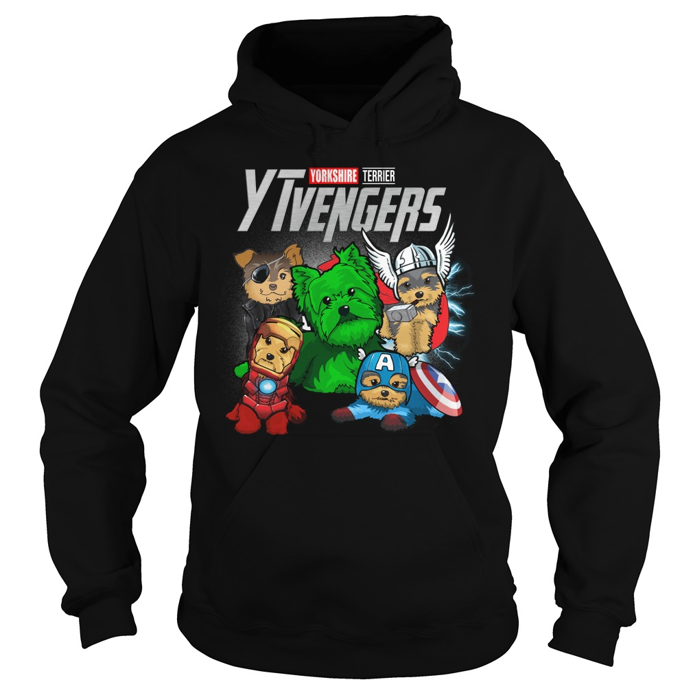 Marvel Avengers Yorkshire Terrier Ytvengers Hoodie
