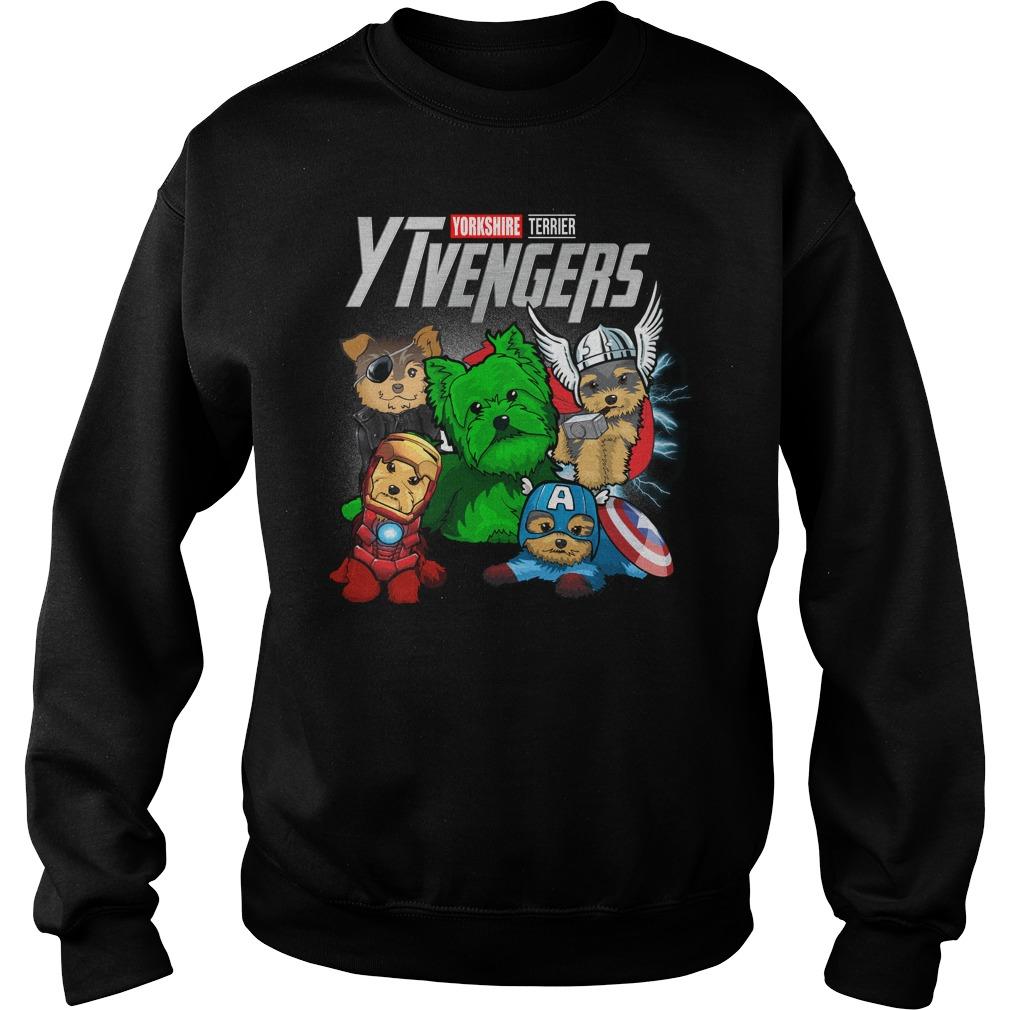 Marvel Avengers Yorkshire Terrier Ytvengers Sweater