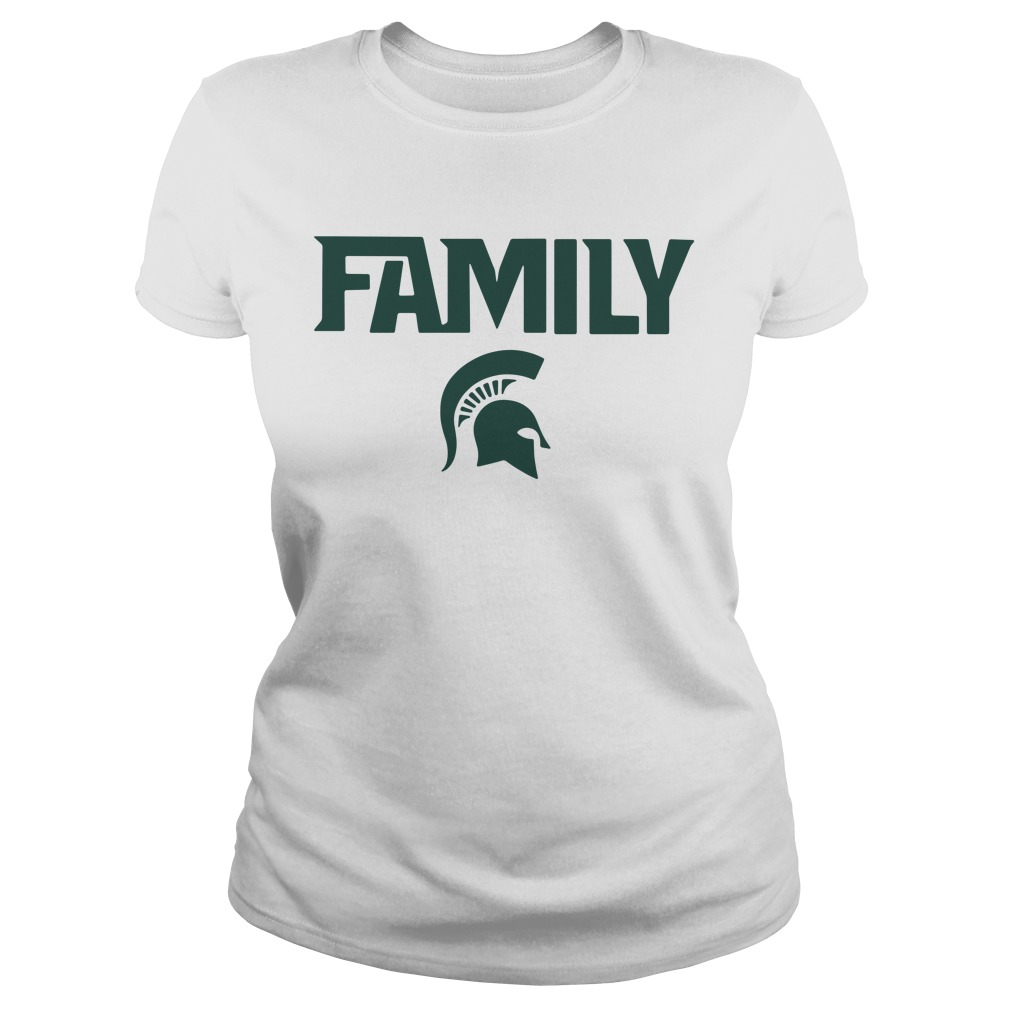 Michigan State Msu Family Ladies Tee