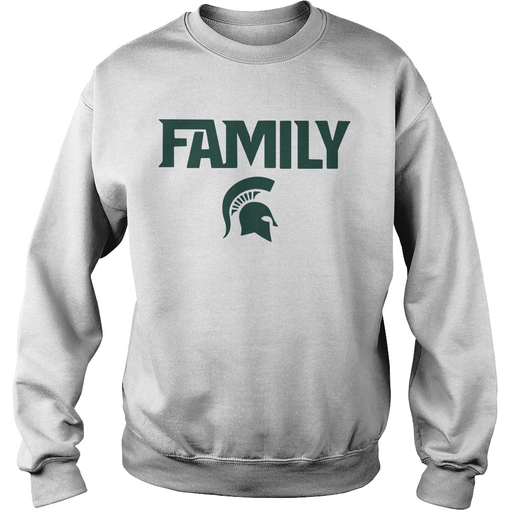 Michigan State Msu Family Sweater