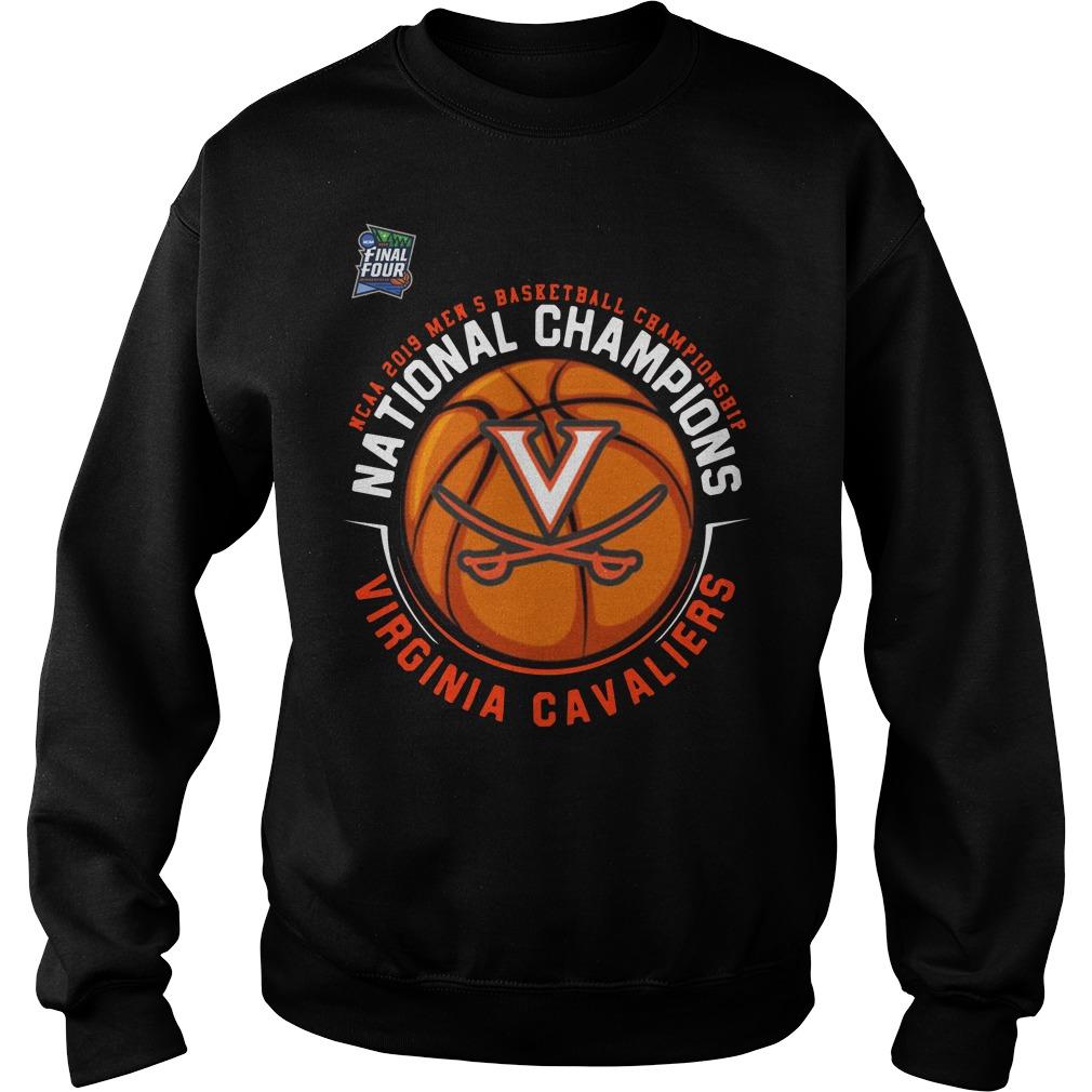 Ncaa 2019 Mens Basketball Championship National Champions Virginia Cavaliers Sweater