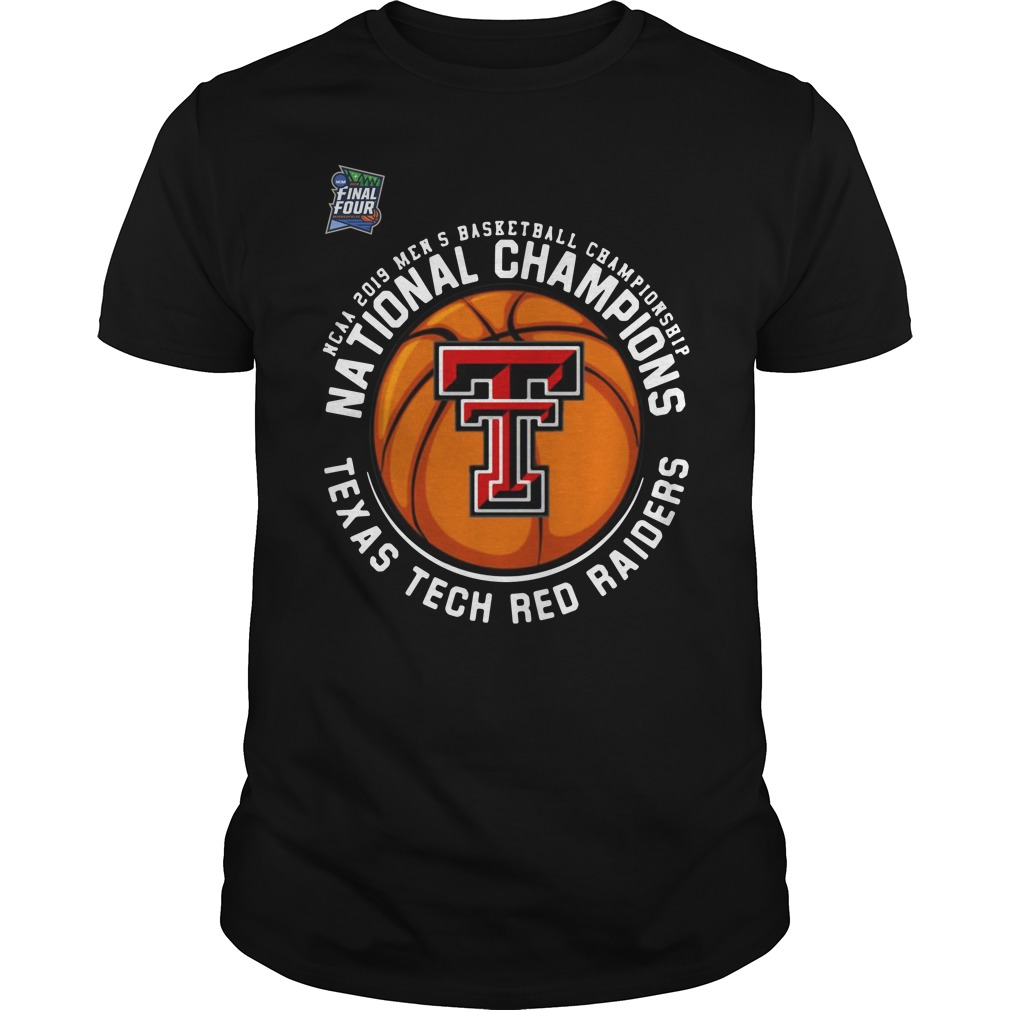 Ncaa 2019 Men's National Champions Texas Tech Red Raiders Guys Shirt