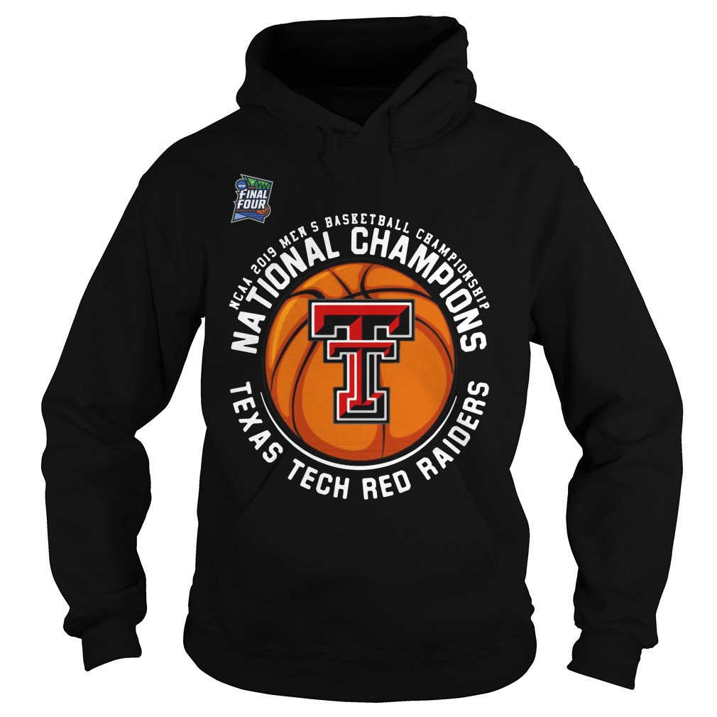 Ncaa 2019 Men's National Champions Texas Tech Red Raiders Hoodie