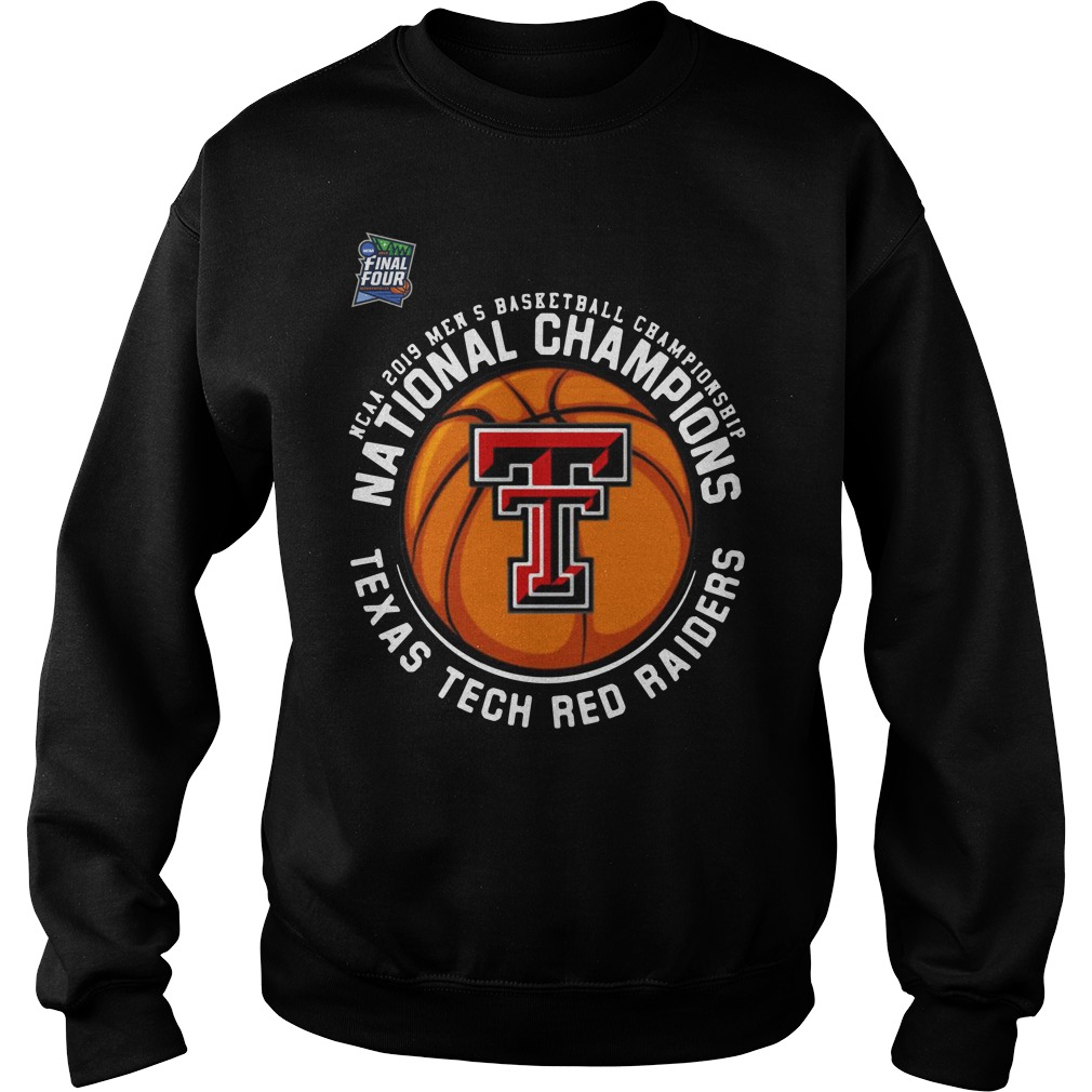 Ncaa 2019 Men's National Champions Texas Tech Red Raiders Sweater