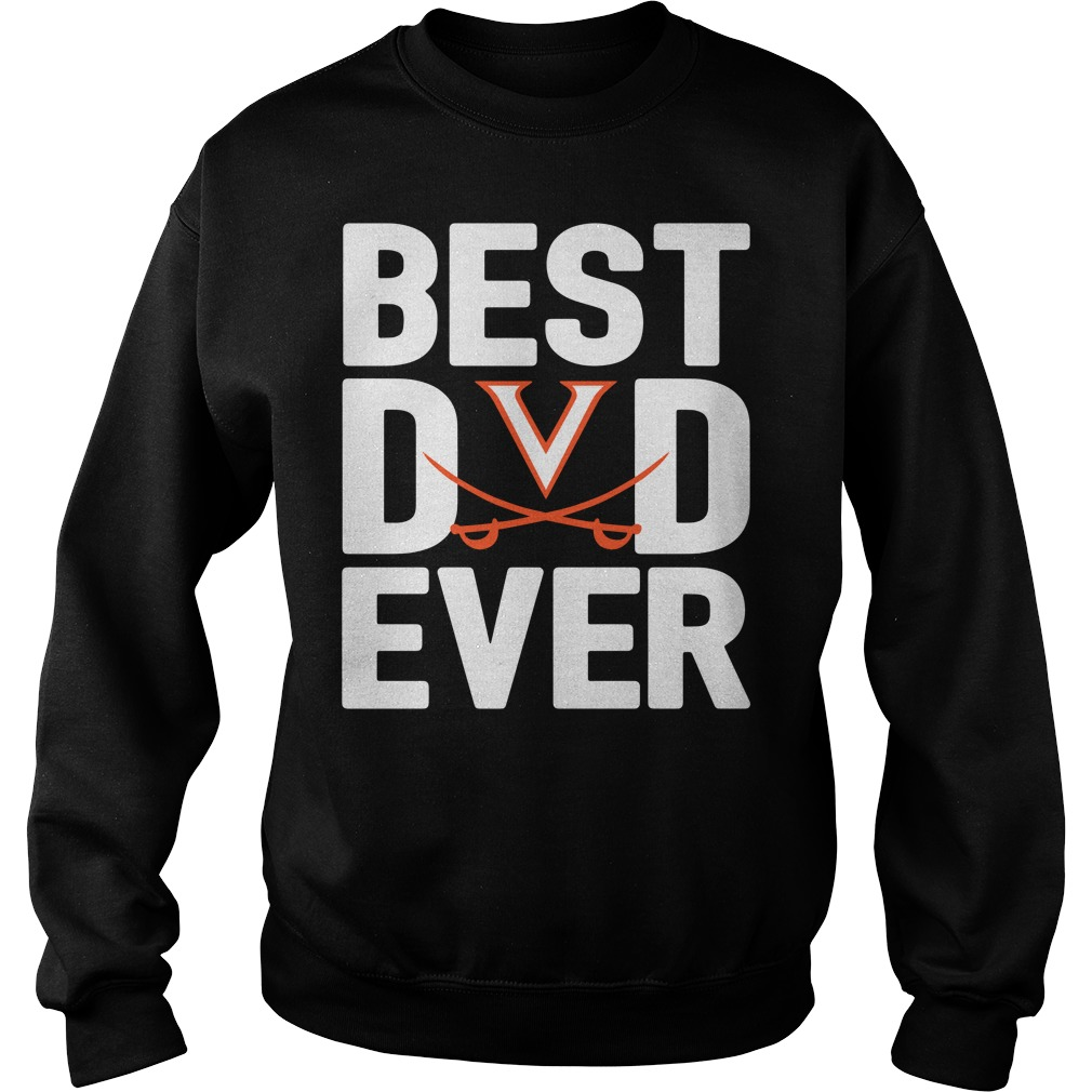Virginia Cavaliers Best Dad Ever Sweater