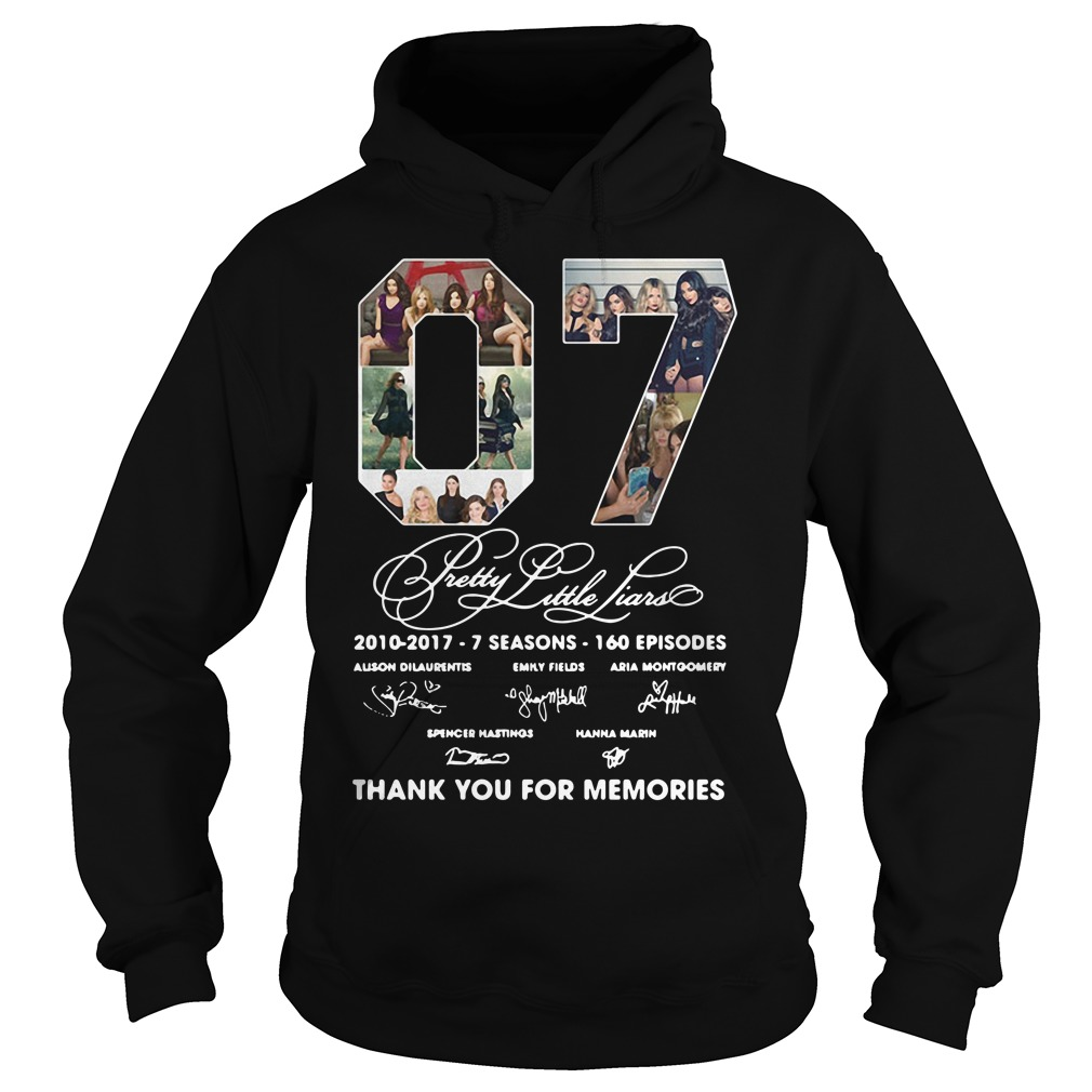07 Pretty Little Liars Thank You For Memories Hoodie