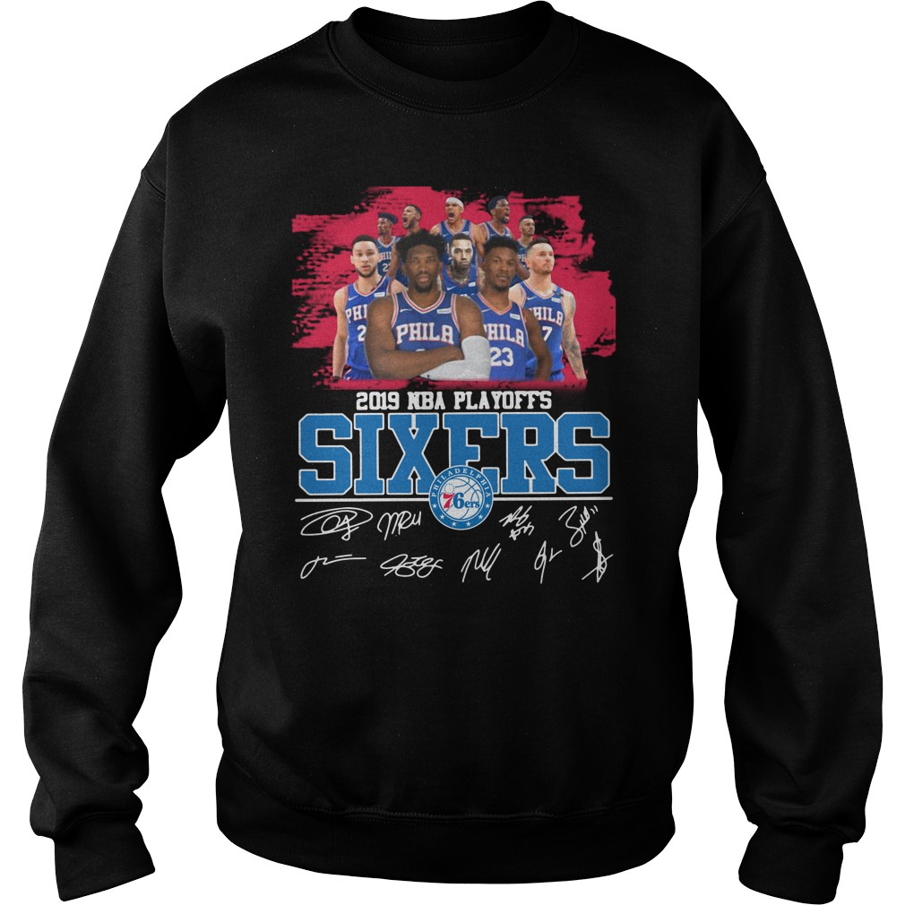 2019 Nba Playoffs Sixers Philadelphia 76ers Signature Sweater