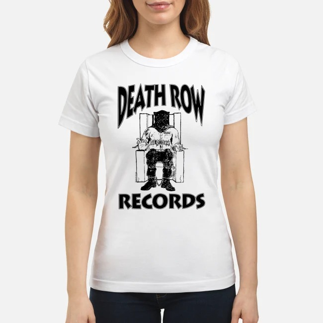 Death Row Records Ladies tee