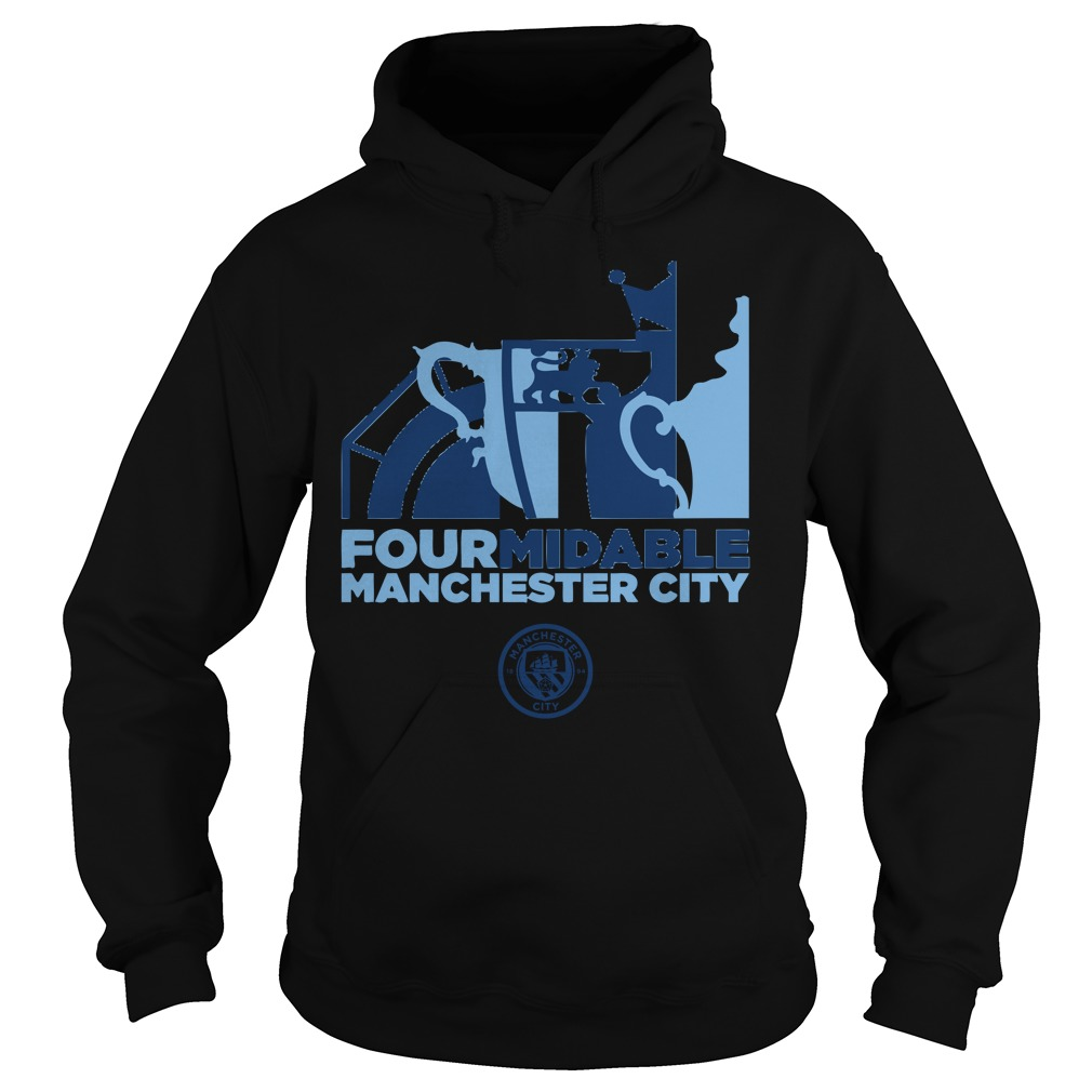 Four Midable Manchester City Hoodie