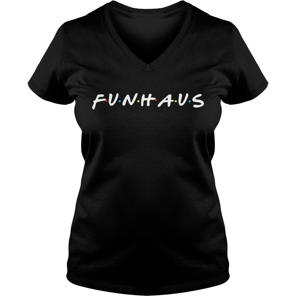 Friends Funhause V-neck T-shirt