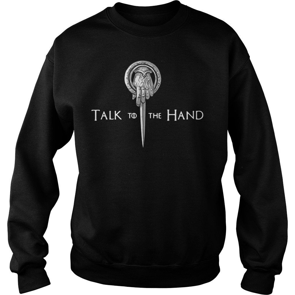 Game Of Thrones Tyrion Lannister Talk To The Hand Sweater