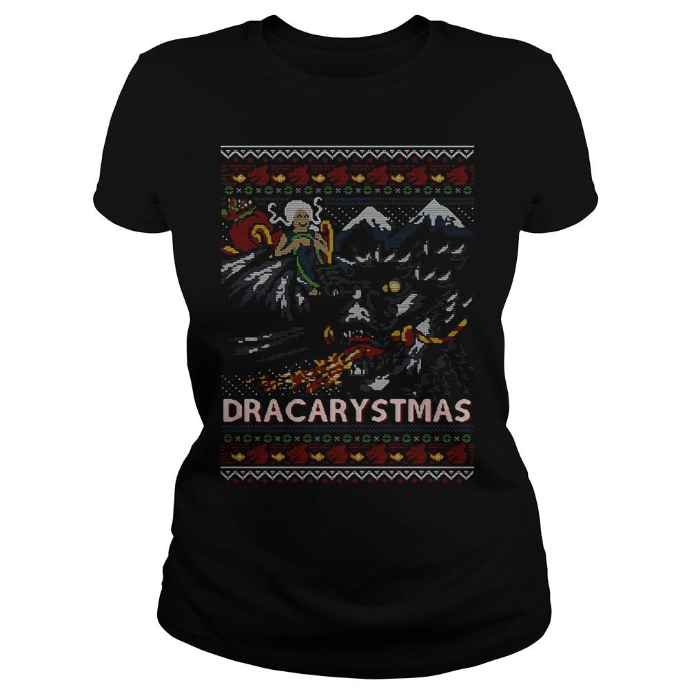 Game Of Thrones: Dracarystmas Ugly Christmas Ladies Tee