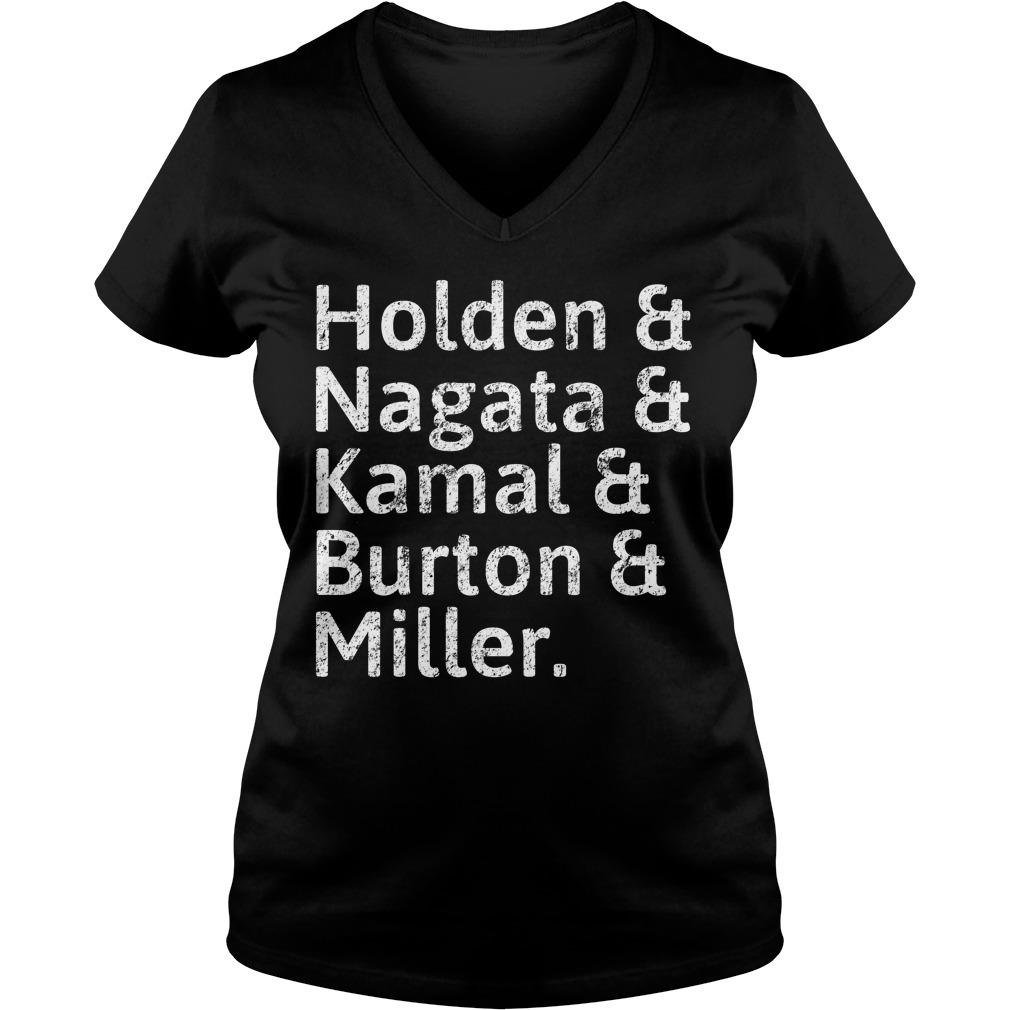 Holden And Nagata And Kamal And Burton And Miller V-neck T-shirt