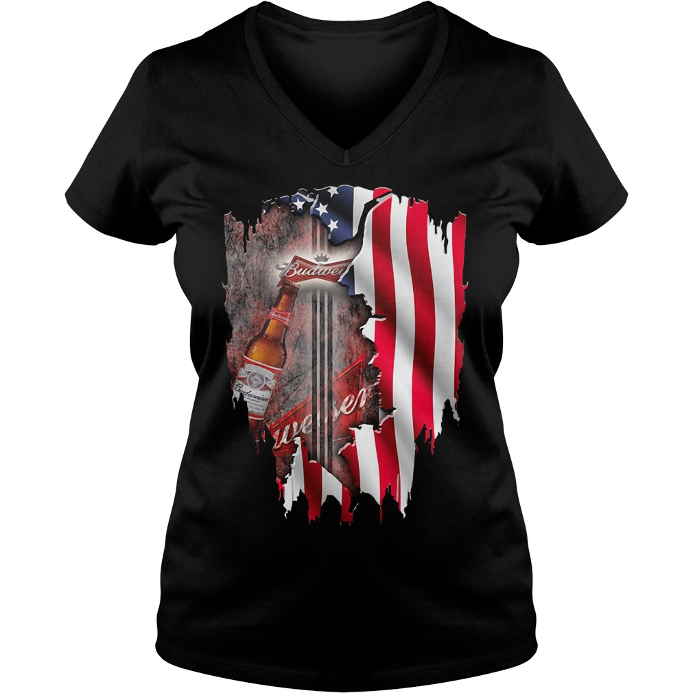 Independence Day 4th Of July Budweiser America Flag Shirt