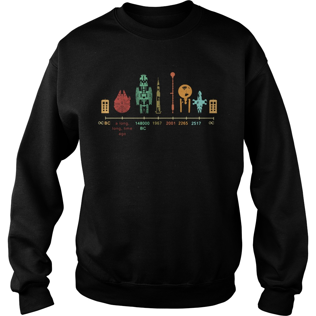 Spaceship Galaxy Fire Timeline 20 A Long Long Time Ago 148000 Bc Sweater