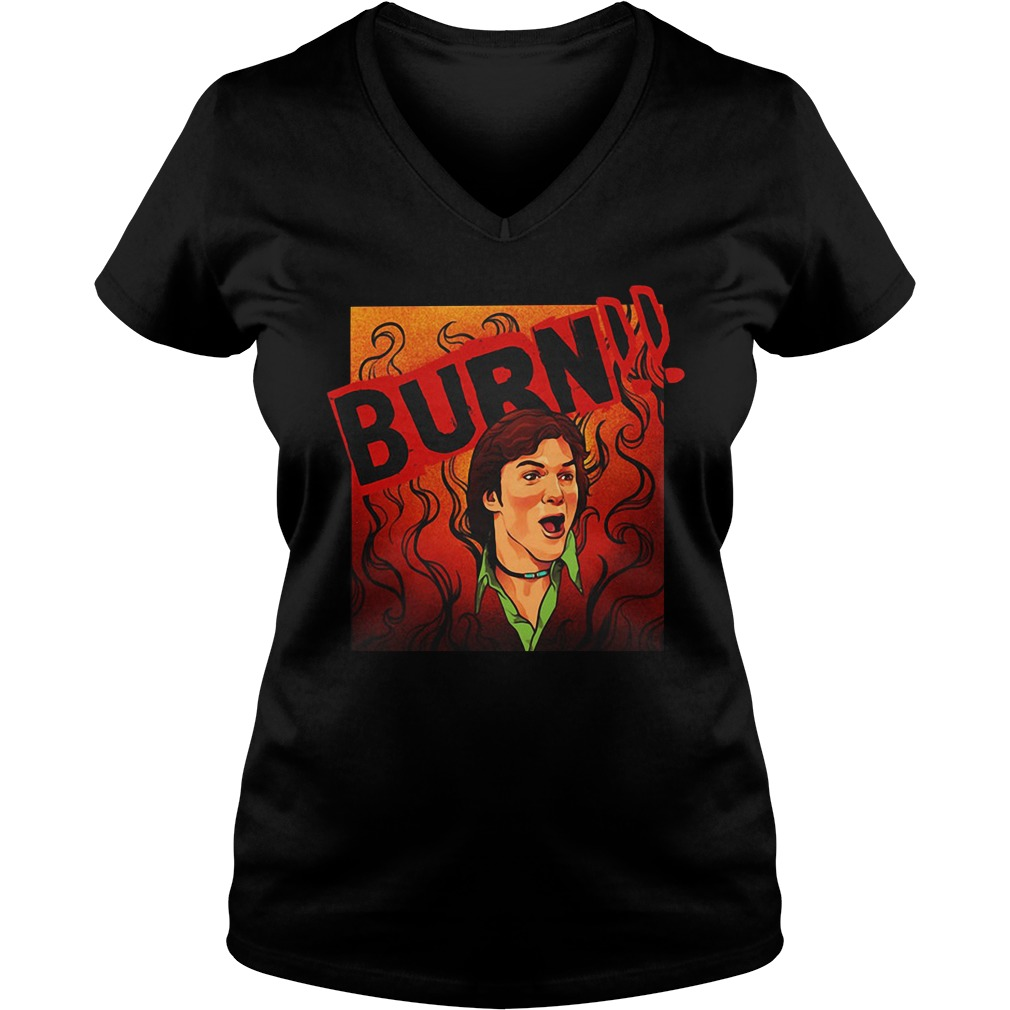 That 70's Show Kelso Quote Burn V-neck T-shirt