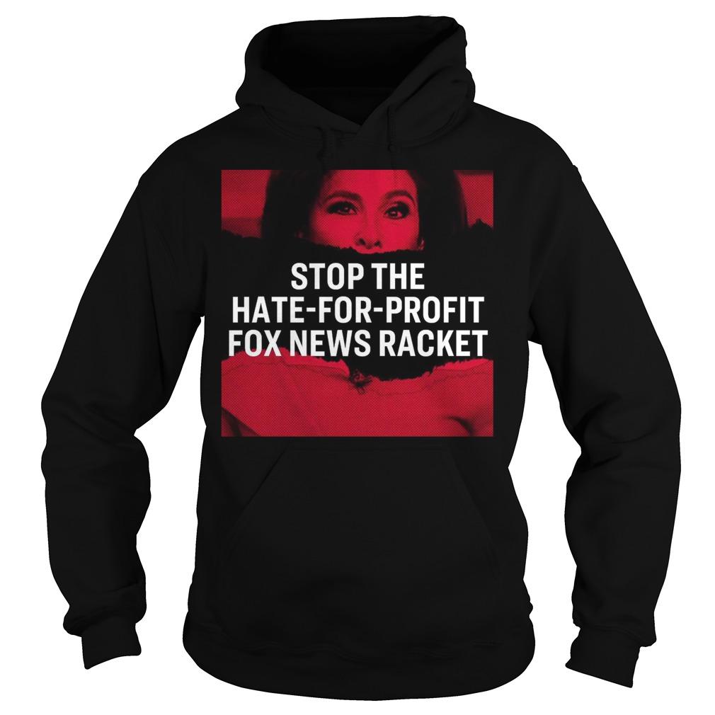 Tucker Carlson Elizabeth Warren Stop The Hate For Profit Fox News Racket Hoodie