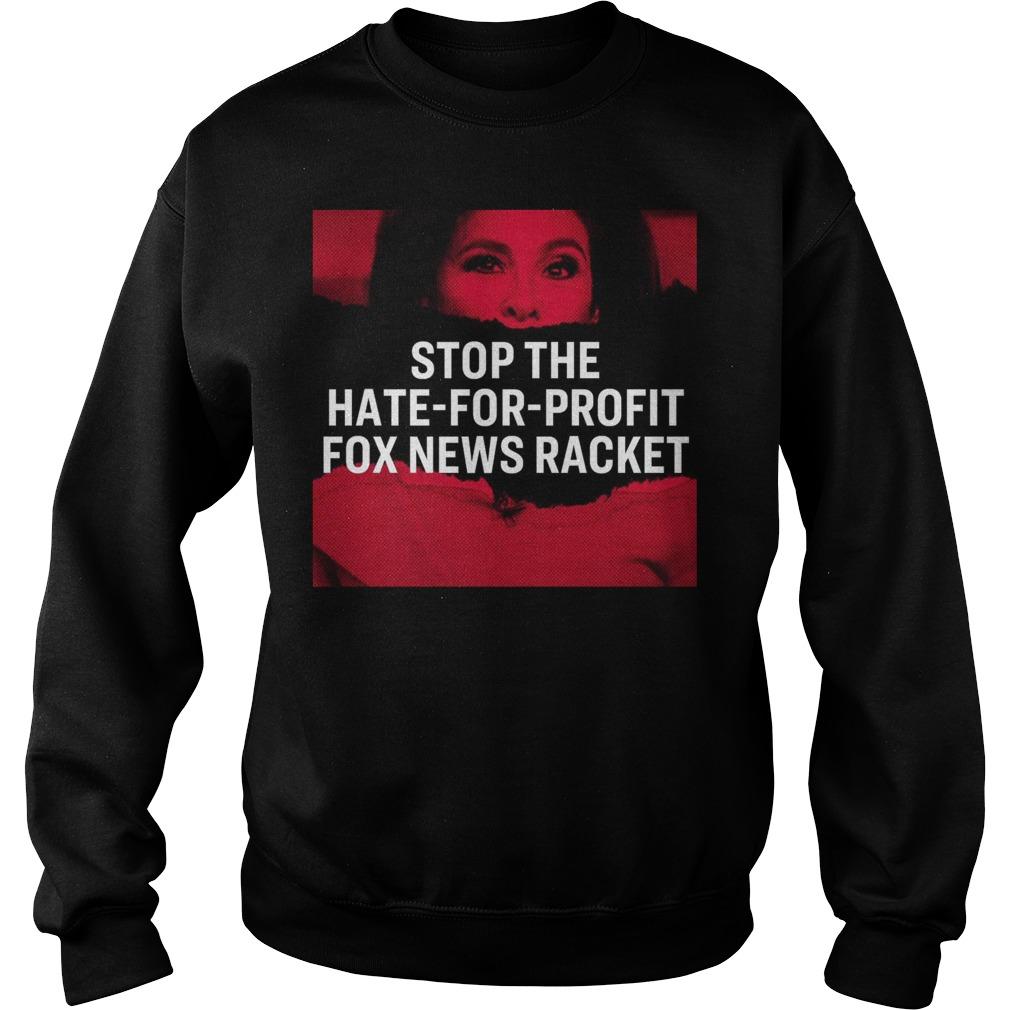 Tucker Carlson Elizabeth Warren Stop The Hate For Profit Fox News Racket Sweater