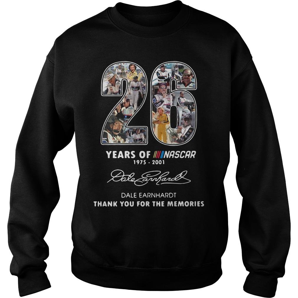 26 Years Of Nascar 1975 2001 Dale Earnhardt Sweater
