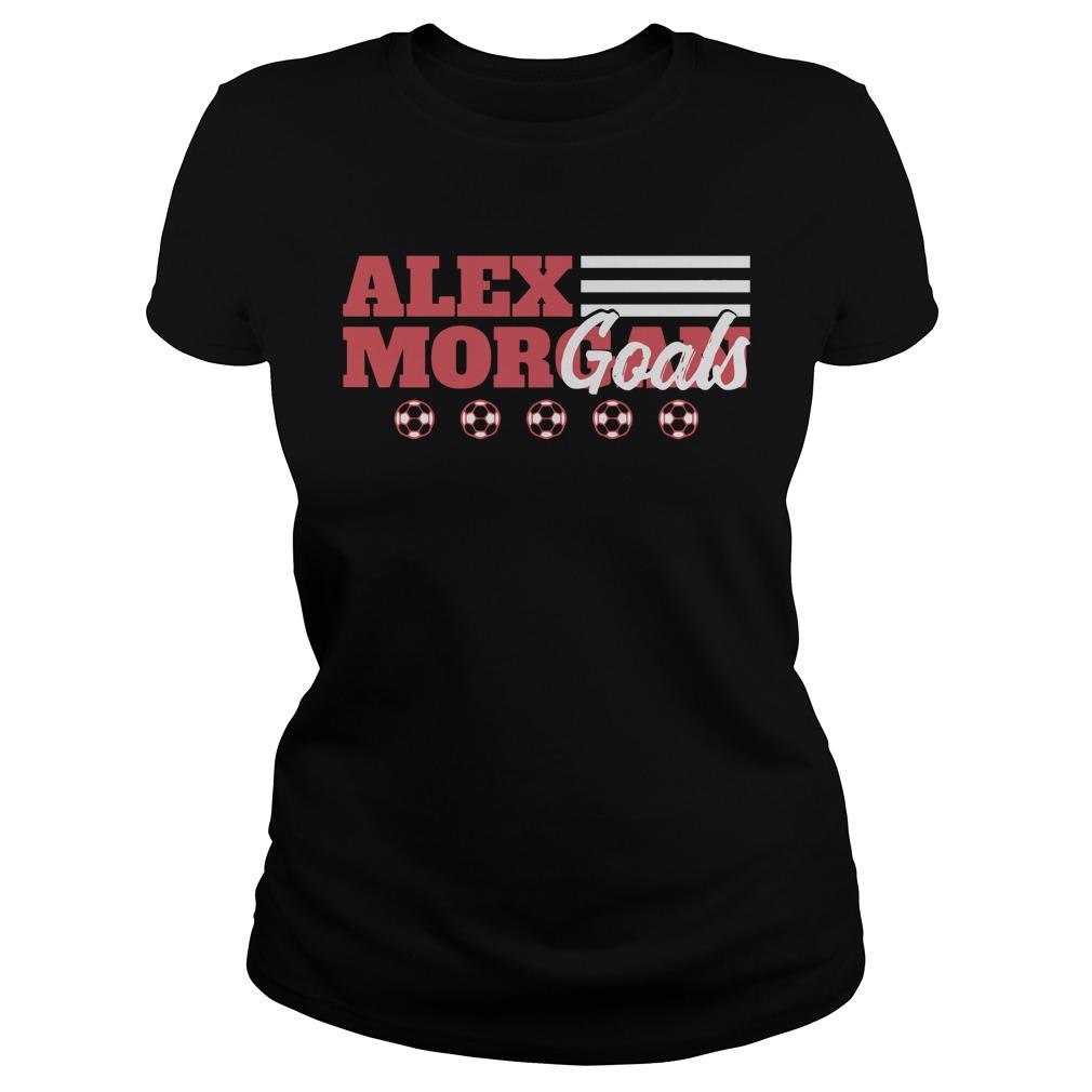 Alex Morgan Goals Ladies tee