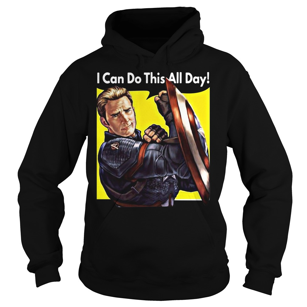 I Can Do This All Day Captain America Hoodie