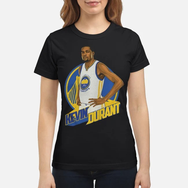 Golden State Warriors Kevin Durant Basketball Ladies tee