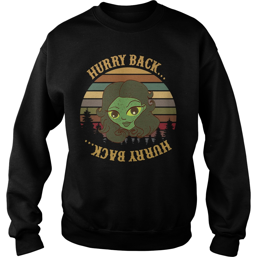 The Haunted Mansion Hurry Back Sunset Sweater
