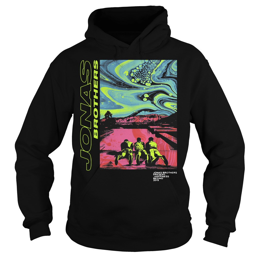 Jonas Brothers – Jonas Brothers Present Happiness Being 2019 Hoodie