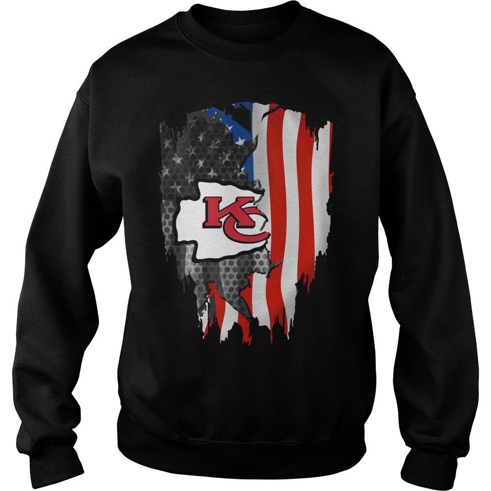 Kansas City Chiefs America Flag Shirt