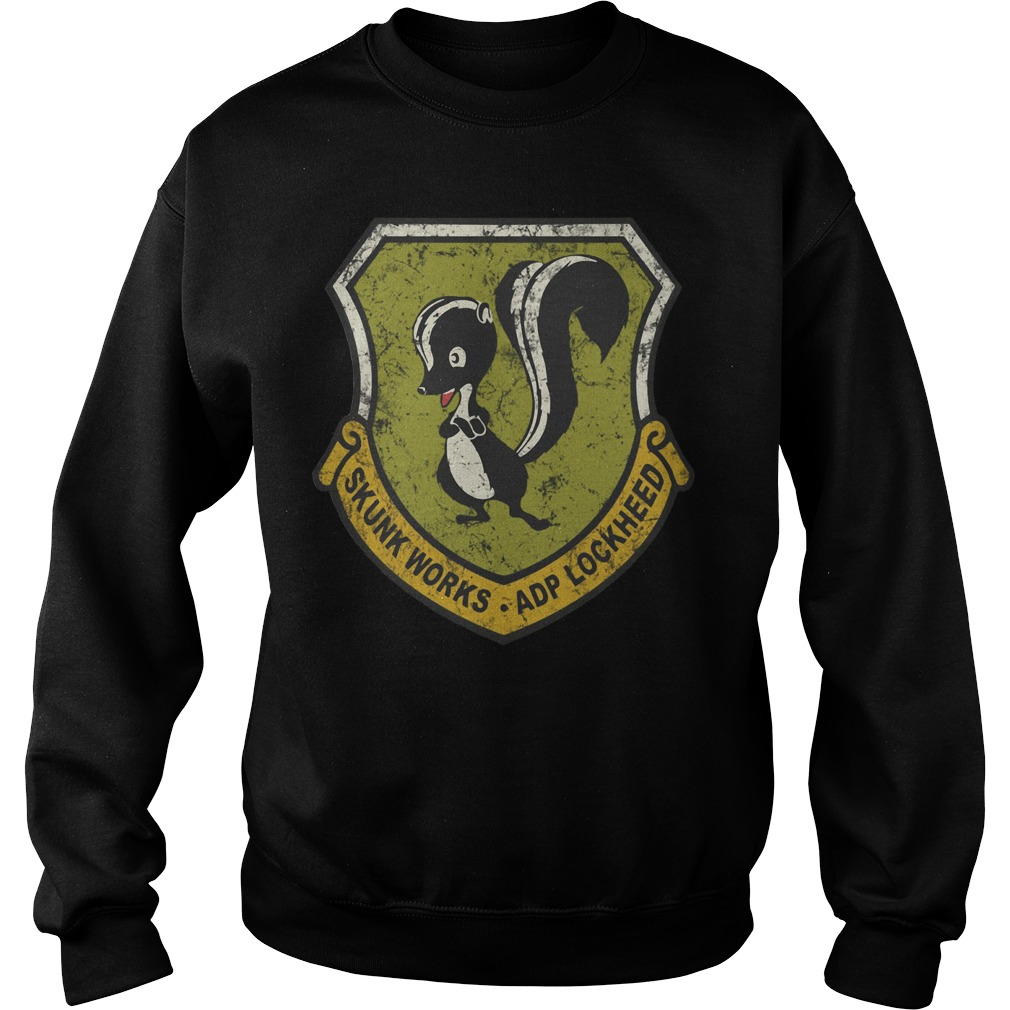 Lockheed Martin Skunk Works Vintage Sweater