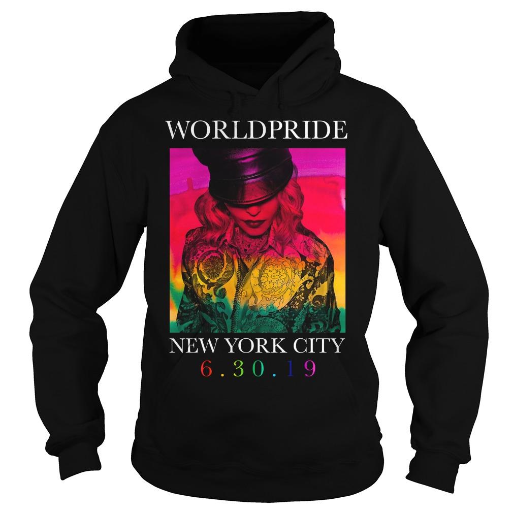 Madonna Worldpride New York City Hoodie
