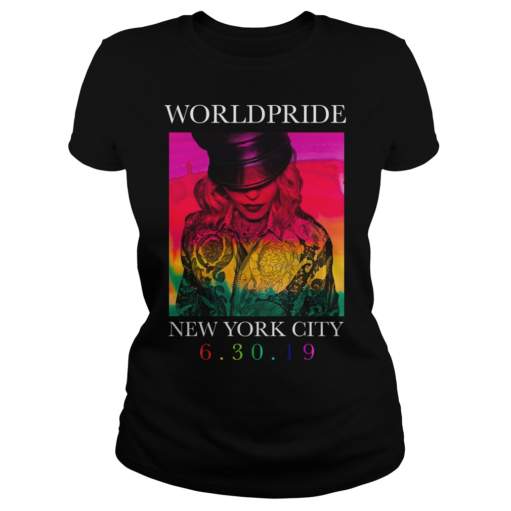 Madonna Worldpride New York City Ladies Tee