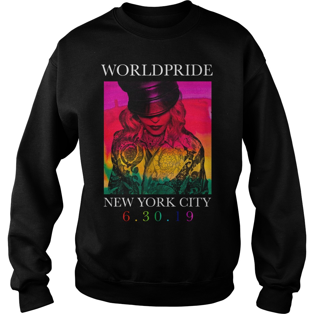 Madonna Worldpride New York City Sweater