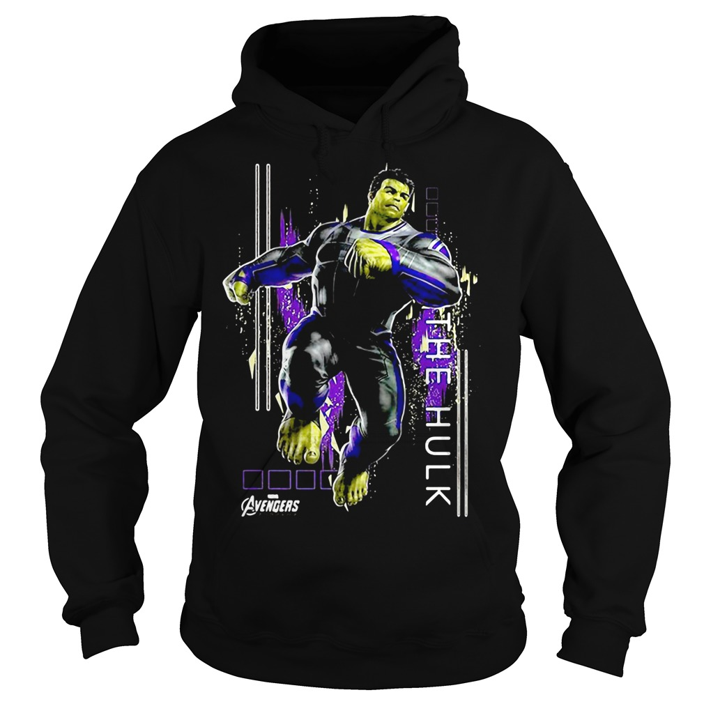 Marvel Avengers Endgame Hulk Action Pose Hoodie