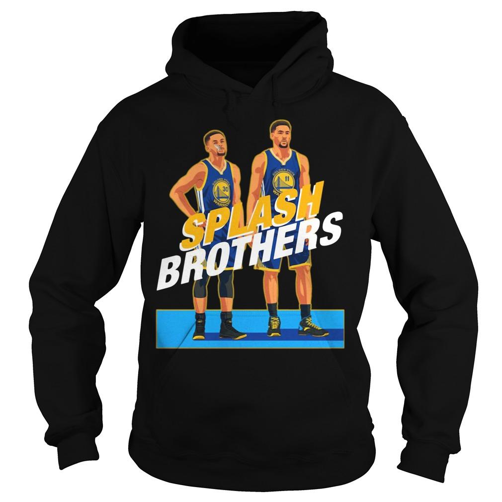 Splash Brothers Stephen Curry Klay Thompson Hoodie