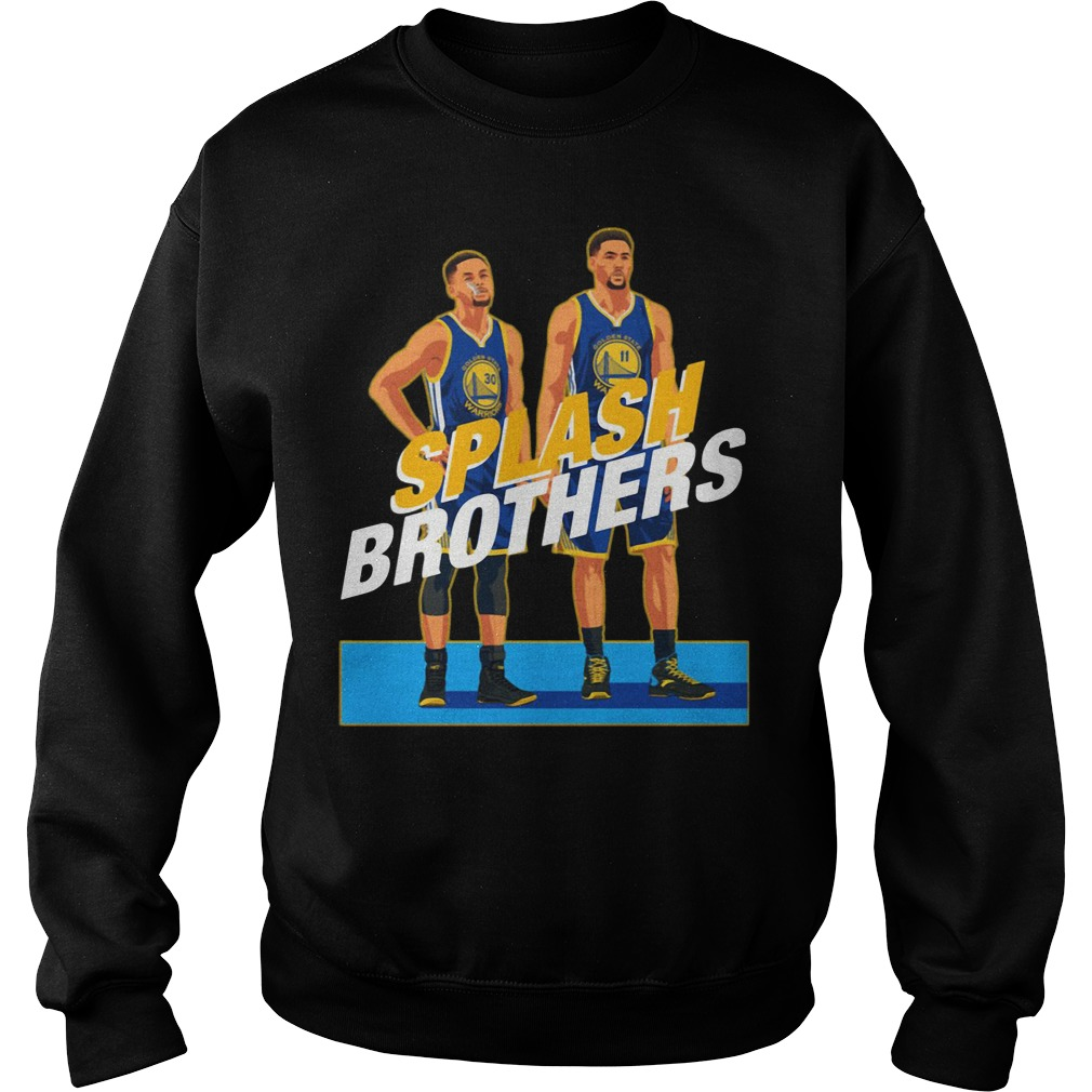 Splash Brothers Stephen Curry Klay Thompson Sweater