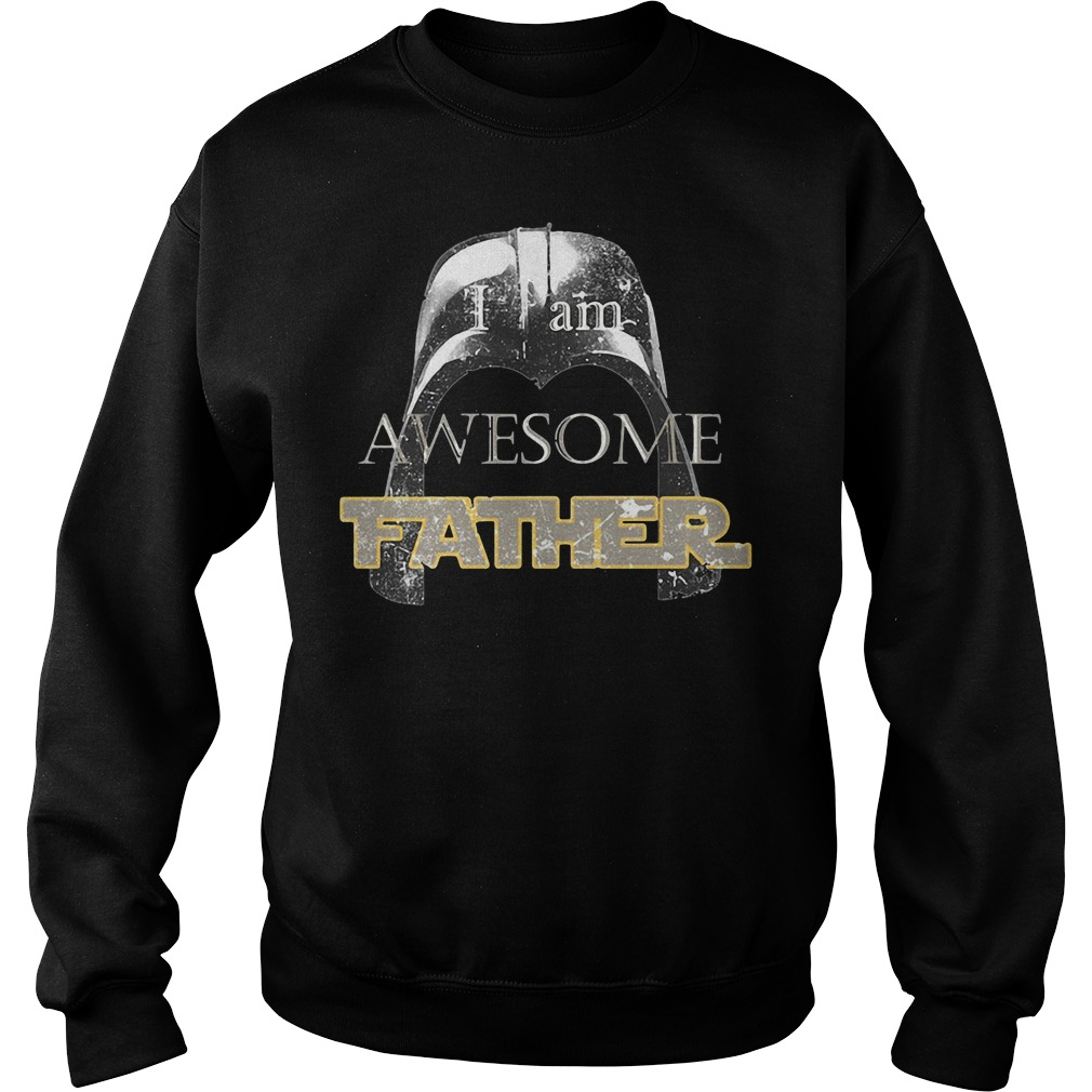 Star Wars Darth Vader I Am Awesome Father Sweater
