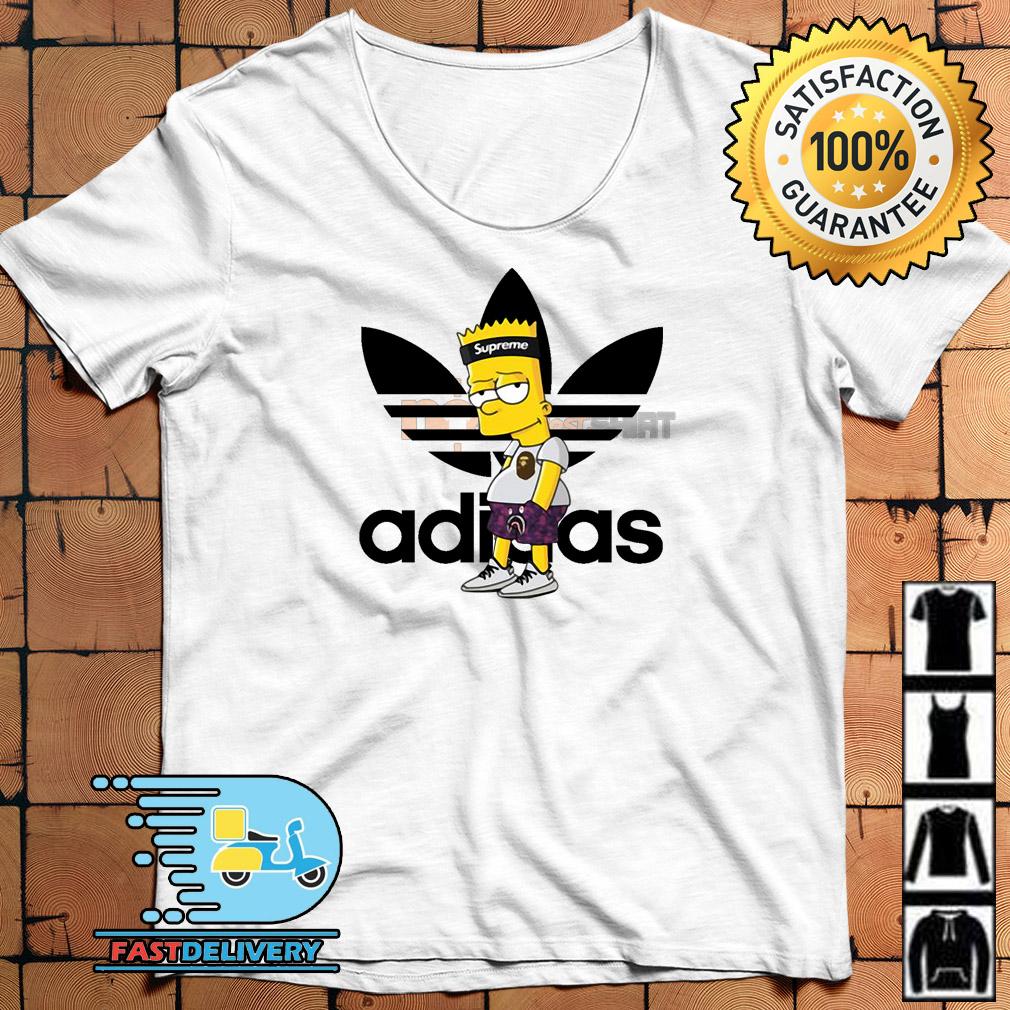Supreme Bart Simpson With Adidas Yeezy Hoodie