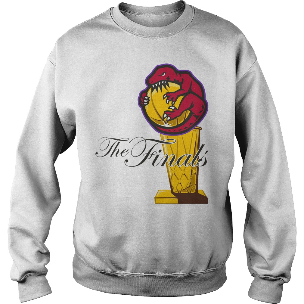 Toronto Raptors Nba The Finals Trophy Sweater