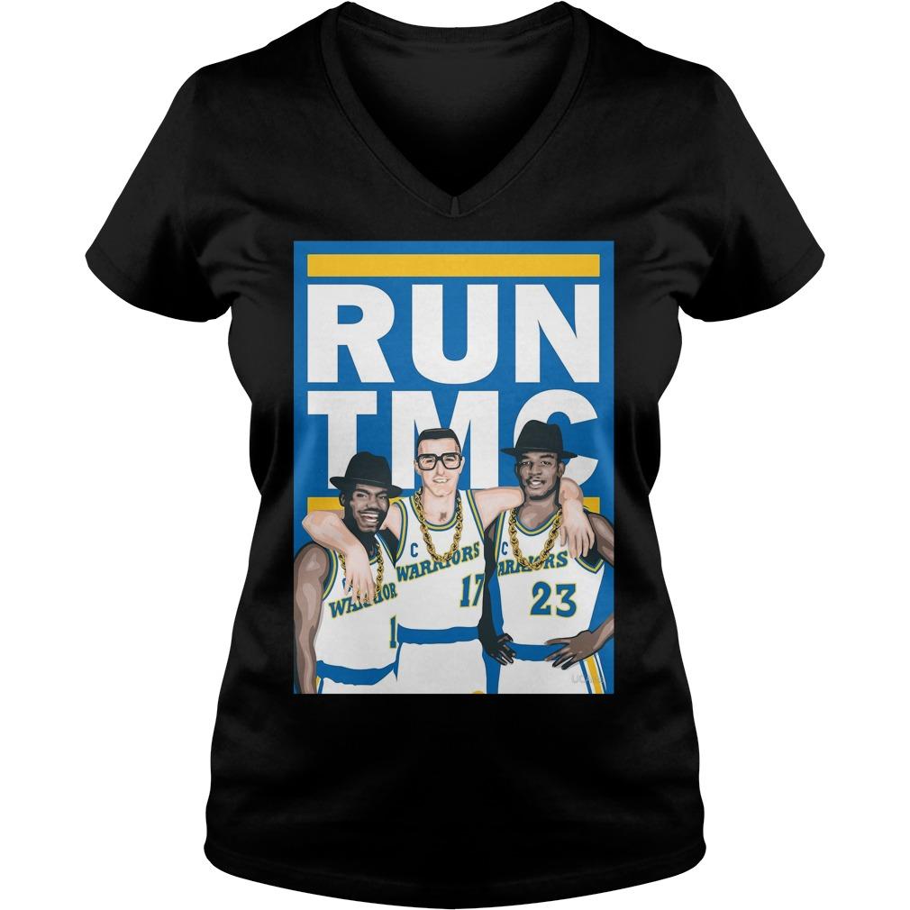 Warriors Run Tmc V-neck T-shirt