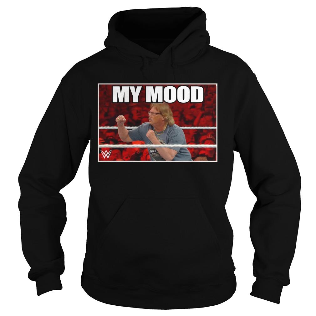 Wwe The Miz My Mood Hoodie